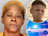 'Drunken' grandmother 'tried to teach her grandson, 13, to drive before mowing down five people'