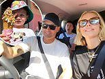 Michael Clarke and Pip Edwards' fun family vacation continues