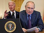 Biden warns Putin he will hit back if Russia 'interferes with our democracy'