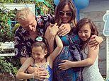 Myleene Klass celebrates daughter's 12th birthday in style as Ava is treated to a Teepee party
