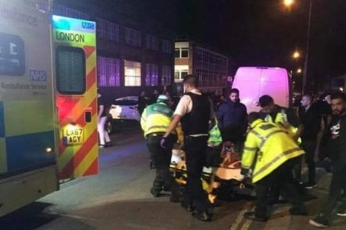 Mosque attack: three injured as car thugs shout anti-Islamic abuse while mowing down pedestrians