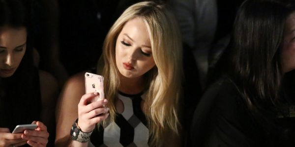 Tiffany Trump shares blackoutTuesday post with Helen Keller quote