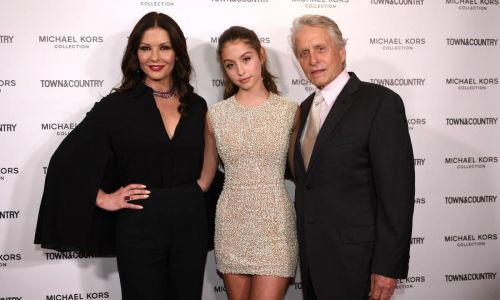 Michael Douglas looks identical to daughter Carys in incredible school photo