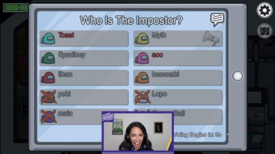AOC makes explosive Twitch debut with over 435,000 Among Us viewers