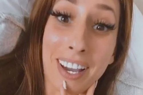 Stacey Solomon hits back at 'pebble police' with DIY hack after arrest fears