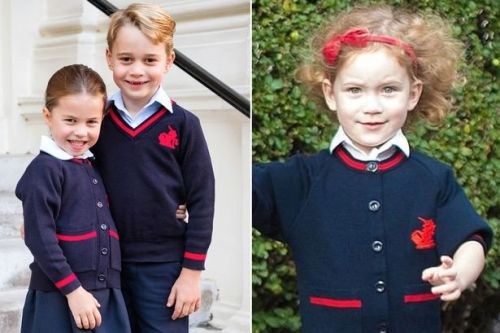 Prince George and Princess Charlotte aren't only British royals at their school