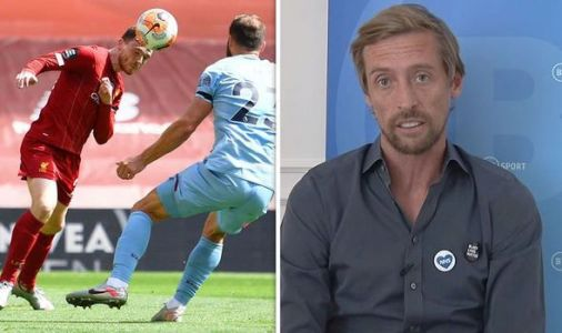 Liverpool hero Peter Crouch 'can't explain' what one player did against Burnley