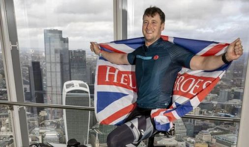 Help for Heroes: Army vet's 10 triathlons for charity which turned his life around