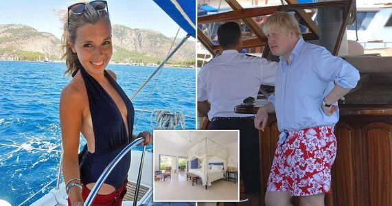 Who paid for Boris's £15,000 New Year holiday to Mustique?