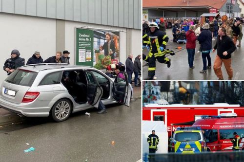 German carnival crash: Woman who stopped driver describes his 'unnerving' face