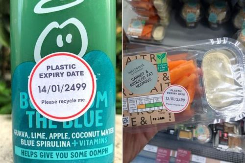 Why new plastic expiry date stickers just started appearing on supermarket products