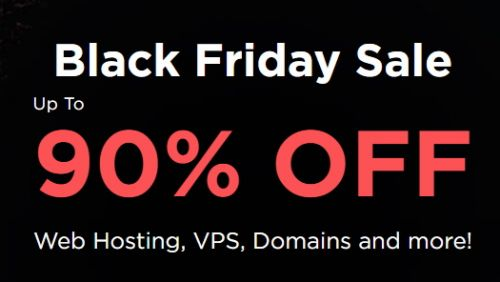 Web hosting for only $0.80 month - this early Black Friday deal is pretty special