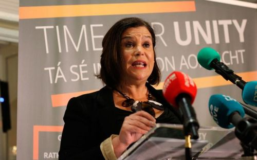 Sinn Fein is the most sullied party in Ireland. just don't expect to see it held up to media scrutiny