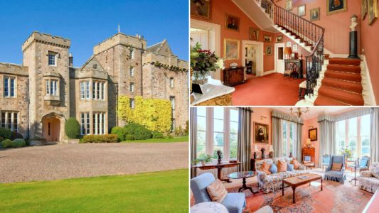 A beautiful 16th century castle is on sale for same price as one-bed London flat