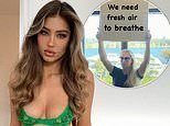 Model Belle Lucia blasts the 'double standards' of 'rich' tennis stars flying into Australia