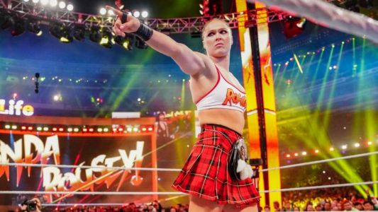 Ronda Rousey slams 'ungrateful' WWE fans with f-bomb rant