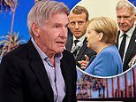 Harrison Ford talks speaking about environment at the UN and how he's given up eating meat for cause