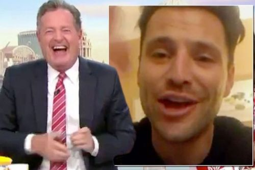 Mark Wright hangs up on interview with Piers Morgan live on GMB after Soccer Aid taunts