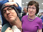 Man vents his annoyance with Senator Susan Collins in a newspaper ad after she called him rude