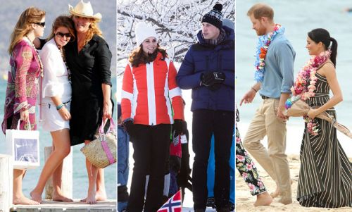 18 incredible royal holiday snaps to inspire your post-quarantine travels