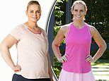 Jelena Dokic is the lightest she's been in a decade after slimming down to her game playing weight