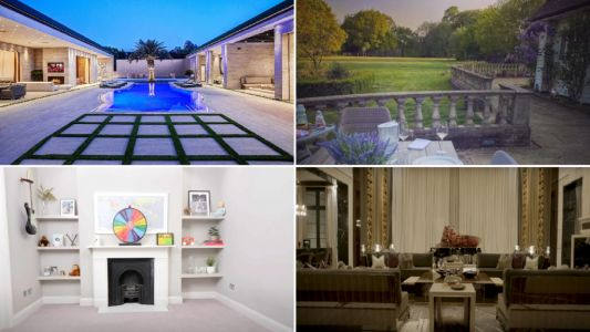 How the other half live: Can you guess which celebrities these houses belong to?