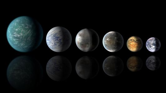 The universe is teeming with hundreds of 'water-worlds' which could support alien life