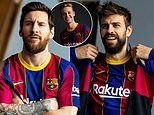 Barcelona reveal stunning classic design for 2020-21 home kit. but it will set you back £200!