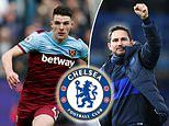 West Ham 'may be forced to sell £70m Chelsea target Declan Rice' as David Moyes eyes new signings