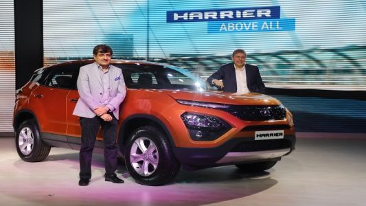 Tata Motors unveils the much-awaited Harrier
