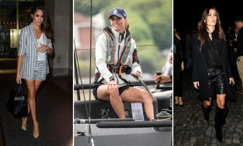 Royals rocking chic summer shorts! From Kate Middleton to Meghan Markle and more