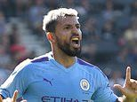 Bournemouth 1-3 Manchester City: Sergio Aguero crushes the Cherries with a brace