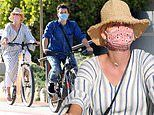Katy Perry and Orlando Bloom ride in style as they cruise around Santa Barbara on luxury bicycles