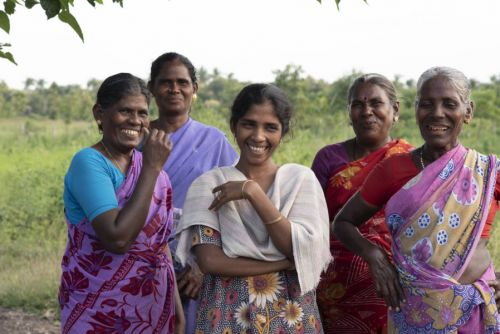 Christian Aid Scotland programme growing organically to help marginalised women of India - Val Brown