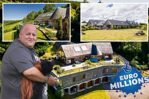 EuroMillions winner blows £2.5m in a week on two luxury Scottish mansions