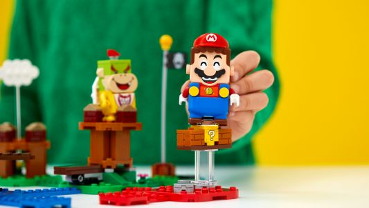 Super Mario Lego is now available to pre-order, with four sets officially unveiled