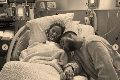 Chrissy Teigen asks 'how can this be real' after baby son's tragic death