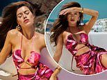 Ed Westwick's girlfriendTamara Francesconi sizzles in racy cut-out dress for Pretty Little Thing