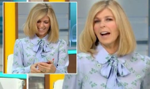 GMB thrown into chaos as Kate Garraway's phone goes off in blunder: 'It wasn't off!'