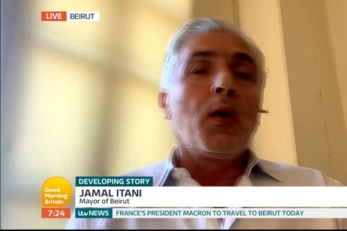 Beirut Mayor on GMB denies knowledge of dangerous chemicals and feels 'no guilt'