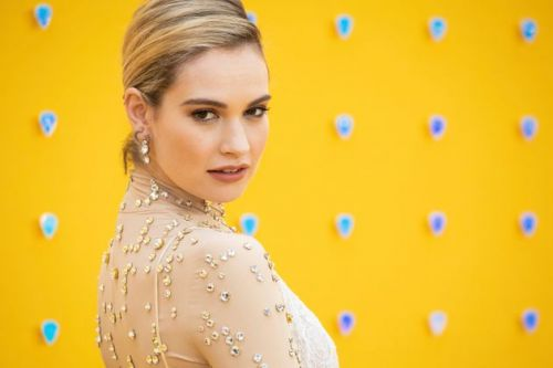 Lily James Makes First TV Appearance Since Dominic West Controversy