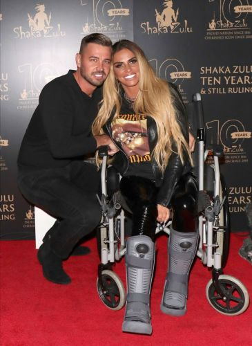 Katie Price Announces She's Engaged To Partner Carl Woods