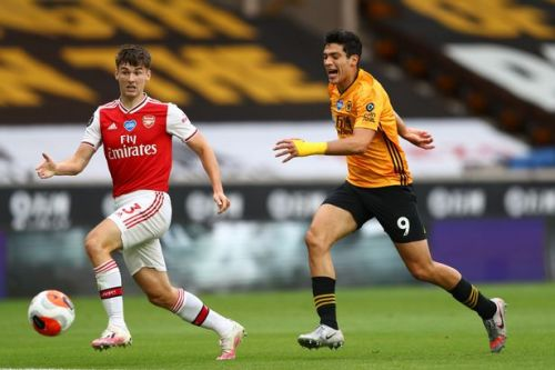 Kieran Tierney earns new Arsenal nickname after carrier bag fashion statement