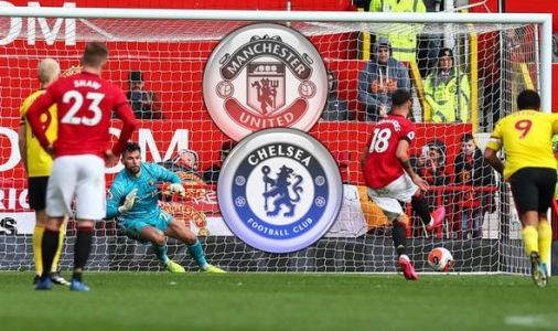 Man Utd star Bruno Fernandes sends Chelsea fans into a frenzy with Jorginho penalty choice