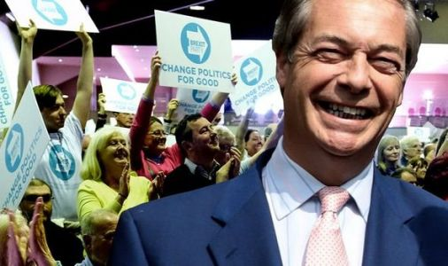 European elections results UK: Brexit Party to STORM to victory to punish Tories on Brexit