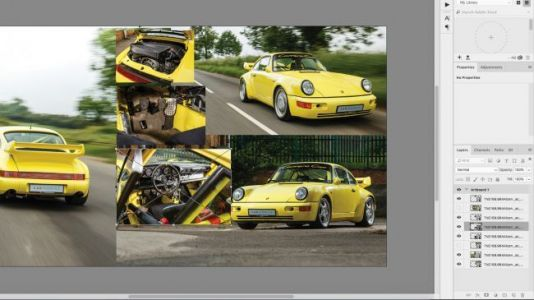 How to make a photo collage in Photoshop CC