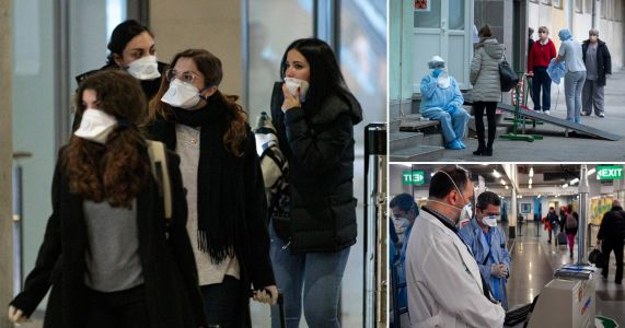 Coronavirus sweeps through Europe as five countries confirm new cases