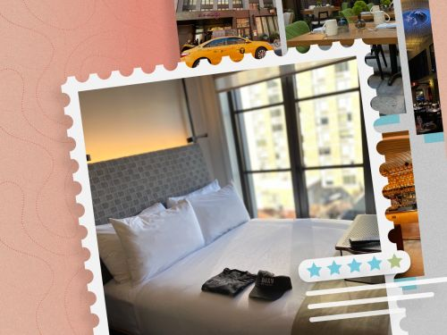 The Moxy East Village, a Marriott Bonvoy hotel, trades space for affordable prices - here's why the small rooms are no compromise