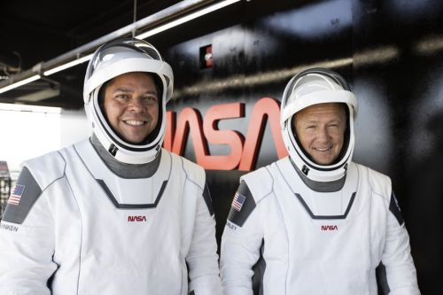 Crew Dragon astronauts, both married to veteran space fliers, share unique bond