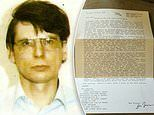 Newly unearthed letters show serial Killer Dennis Nilsen wrote bizarre poems about sex and condoms